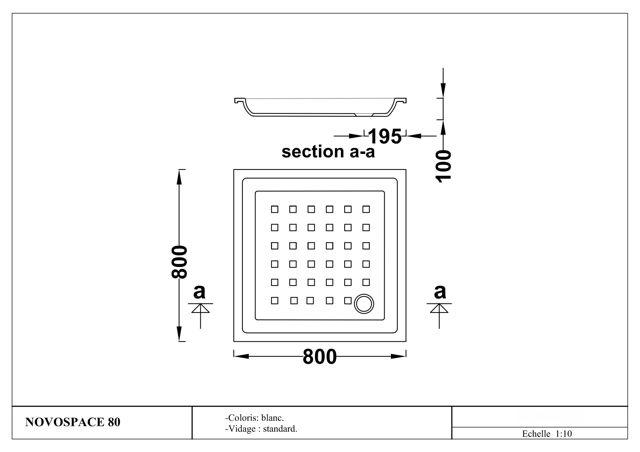taille bac de douche decoration receveur de douche receveur de douche extra plat a poser x. Black Bedroom Furniture Sets. Home Design Ideas
